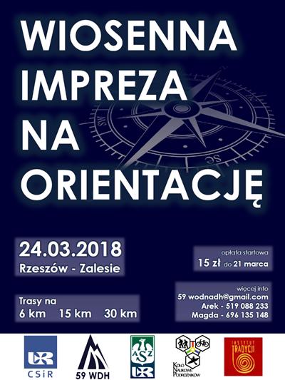 Wiosenna Impreza na Orientację 2018 @ Rzeszów